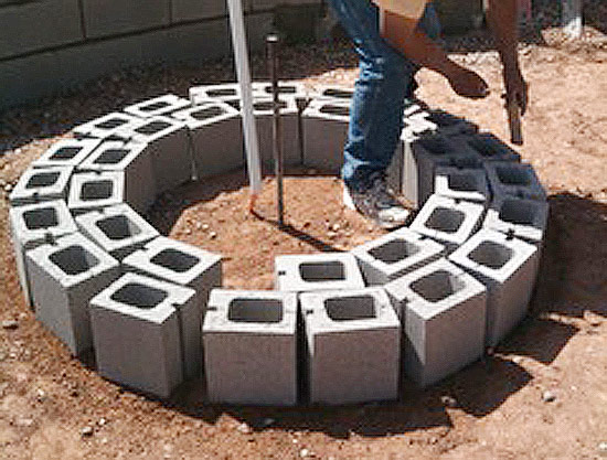 Fire Pit Gl Installation Instructions Rocks
